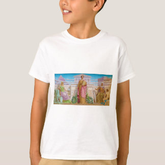 History Mosaic by Frederick Dielman T-Shirt