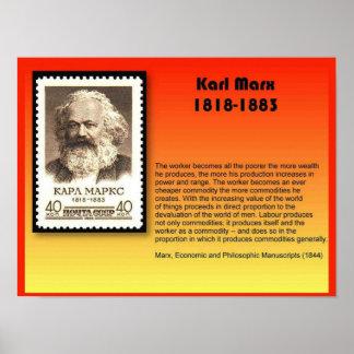 History Politics Karl Marx 1818-1883 Posters