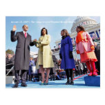 HISTORY: President Obama's Inauguration Ceremony Postcards