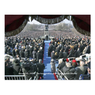 HISTORY: President Obama's Inauguration Speech Postcard