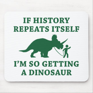 History Repeats Mouse Pad