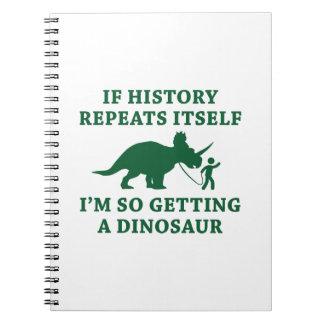 History Repeats Notebook