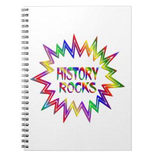 History Rocks Notebook