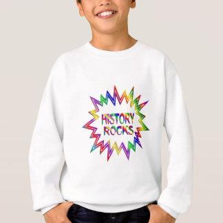 History Rocks Sweatshirt