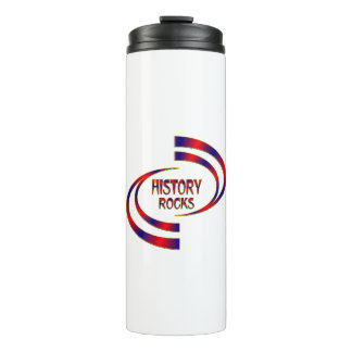 History Rocks Thermal Tumbler