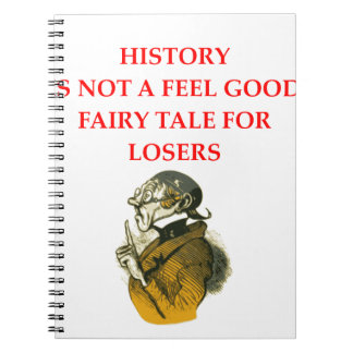 HISTORY SPIRAL NOTEBOOKS