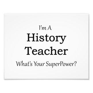 History Teacher Photograph