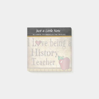 History Teacher | Vintage Style Post-it Notes