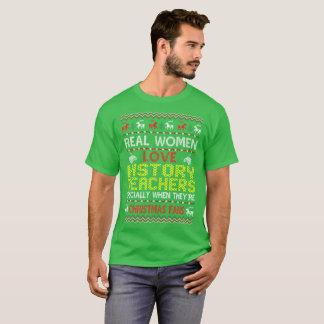 History Teachers Christmas Fans Ugly Sweater Shirt