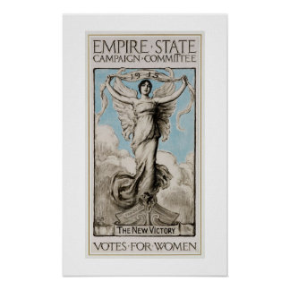 History US feminism 1915 Votes for women Poster