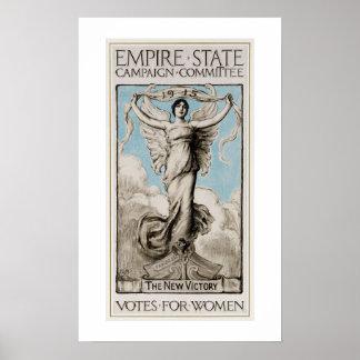 History US feminism 1915 Votes for women Poster