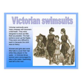 History, Victorian, seaside, swimsuits Postcard