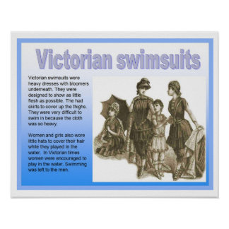 History, Victorians, Swimsuits Poster