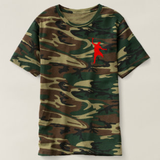 Hit Dem Folk Camo T-shirt