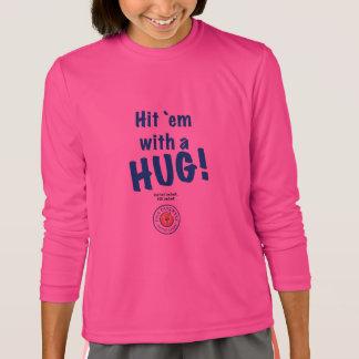 Hit 'em with a HUG! Sport-Tek Long Sleeve Shirt