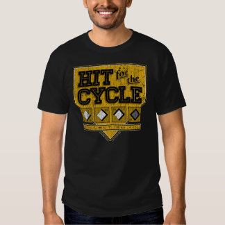 Hit for the Cycle : Vintage Yellow + Black T-shirts