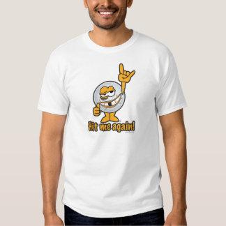 Hit Me Again Cartoon Golf Ball Shirt