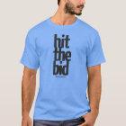 """Hit The Bid"" Men's Stock Trader Tee, Light T-Shirt"