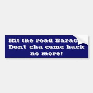 Hit The Road Bumper Sticker
