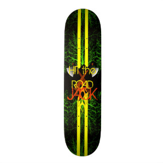 Hit the Road Custom Skateboard