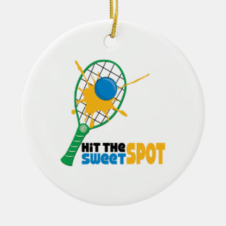 Hit The Sweet Spot Ceramic Ornament