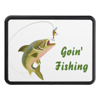 Hitch Cover-Fishing Trailer Hitch Covers
