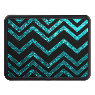 Hitch Cover Zig Zag Sparkley Texture