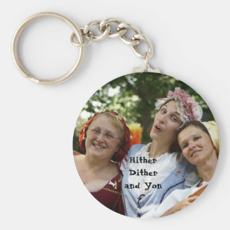 HitherDither and Yon Key Chain
