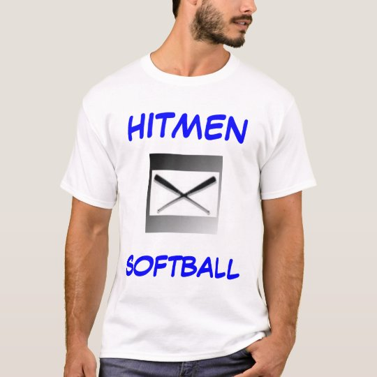 Hitmen Softball Jersey T-Shirt