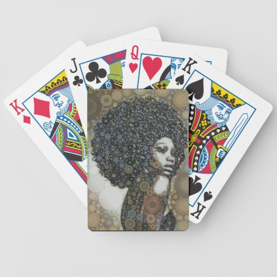 Hits of the seventies bicycle playing cards