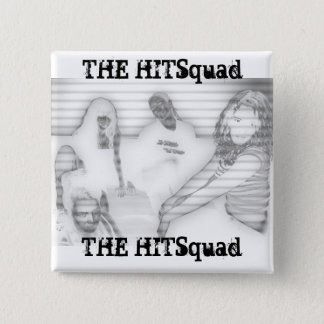 Hitsquad Ladies:  Gris 2 Inch Square Button