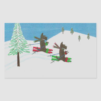Hitting the Slopes 2015CardContest Labels