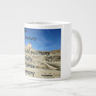 HIV/AIDS Acronym Flip - Reversed Flip Large Coffee Mug