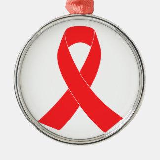HIV AIDS Ribbon Cancer Awareness Christmas Ornaments