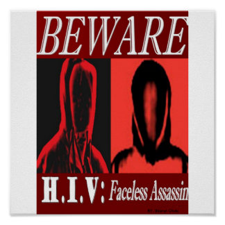 HIV ASSASSIN PIC POSTER
