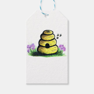 hive pack of gift tags