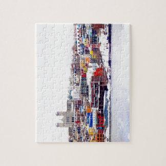 Hiver en St John Puzzle Avec Photo