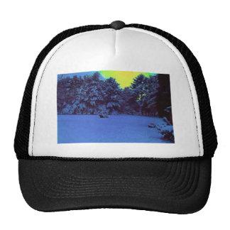 Hiver hyper de couleur casquettes de camionneur