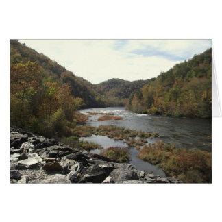 Hiwassee River at Appalachia Powerhouse Card