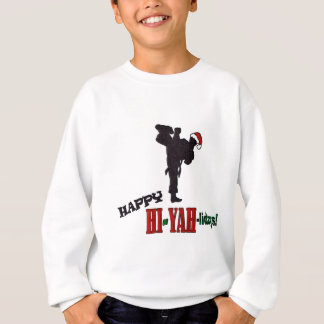 Hiyah-lidays color.jpg sweatshirt