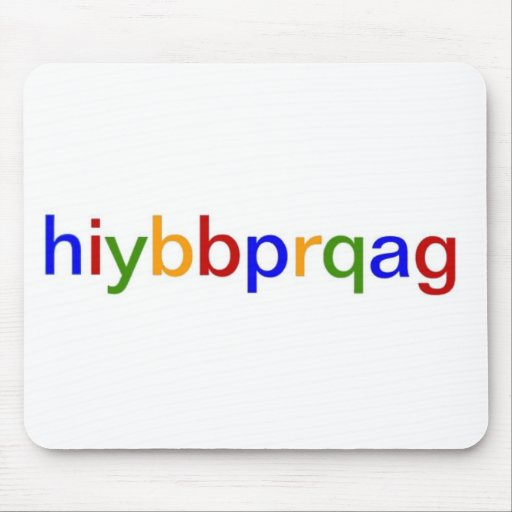 hiybbprqag mousepad