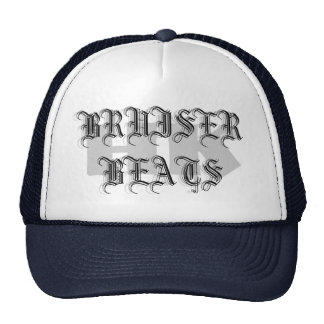 HK, BRUISER BEATS, BRUISER BEATS, BRUISER BEATS HATS