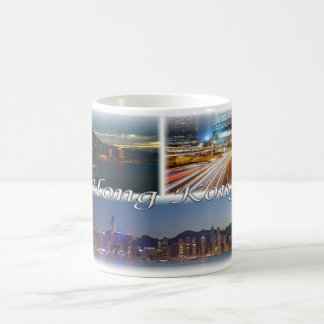 HK Hong Kong by night - Coffee Mug