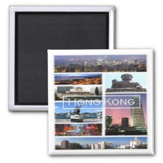 HK * Hong Kong Square Magnet