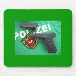 HK P7 Lower Saxony Germany Mouse Pad