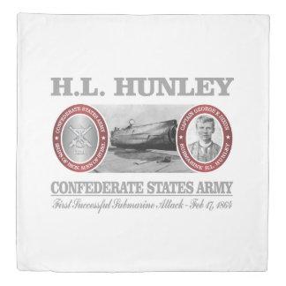HL Hunley (CSA) Duvet Cover