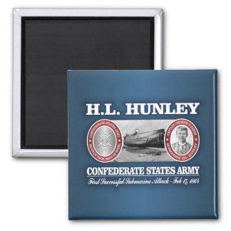 HL Hunley (CSA) Magnet