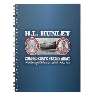 HL Hunley (CSA) Notebooks