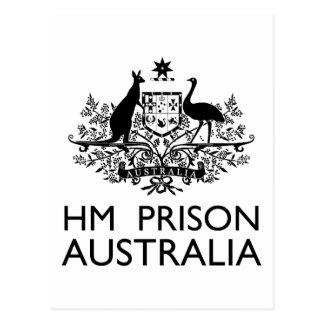 HM Prison Australia Postcard