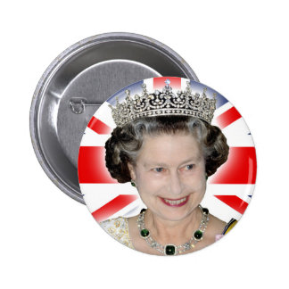 HM Queen Elizabeth II - Majestic! 2 Inch Round Button